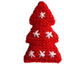 oddknit free knitting patterns two tone tree decoration