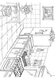 coloriage cuisine coloriage cuisine img 26224