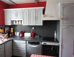 cuisine rustique repeinte en gris exemple de cuisine repeinte cuisine rustique relook e homewreckr co
