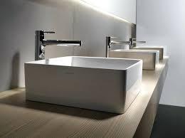 Modern Bathroom Sink Floating Vanity With Vessel Sink Square Modern Bathroom Sinks And