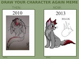 Moo Meme - draw your character again meme by cialli d56df by meeka moo on