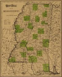 Map Of Mississippi State by State Of Mississippi Ancestral Trackers Maps