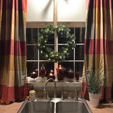 makeovermonday transforming the kitchen sink window to christmas