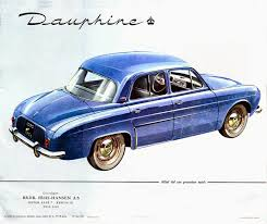 renault dauphine car style critic the renault dauphine a semi success