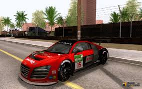 glitter audi r8 lms v3 0 for gta san andreas