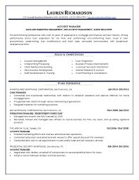 account manager resume account manager resume sle key description