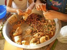 cuisine alg駻ienne food cuisine du monde recette d osbâne panse d agneau