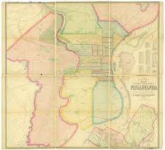 Philadelphia On Map Barnes Map Of Philadelphia 1865 Map Digital Collections Free