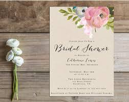 Wedding Shower Invites Etsy Bridal Shower Invitations Reduxsquad Com