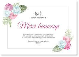 discours remerciement mariage carte remerciement noces d or bonnyprints fr