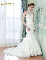 high neck halter wedding dress compare prices on see through halter wedding dress