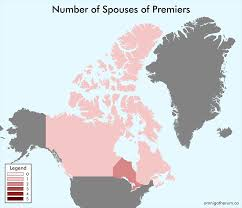 Map Of Canadian Provinces Maps Of Canadian Provinces By Number Of Children And Number Of