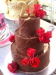 3 tier wicked chocolate 21st birthday cake iced in spanish u2026 flickr