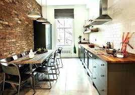 cuisine industrielle deco cuisine industrielle page photo loft industriel lolabanet com