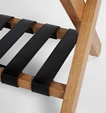 White Bedroom Luggage Rack With Shelf Oak U0026 Leather Luggage Rack Rejuvenation