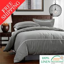 100 Linen Duvet Cover Aliexpress Com Buy Freeshipping 100 Pure Linen Duvet Cover Set
