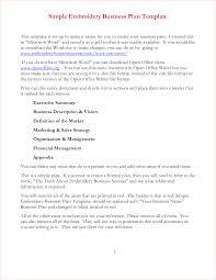 6 simple business plan template procedure template sample