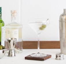 martini two classic holiday martini recipe crate and barrel