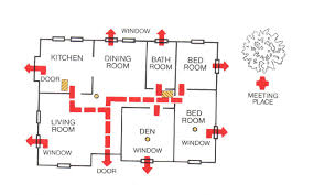 floor plan clipart fire safety plan clipart 23