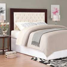 stylish tufted fabric headboard u2013 home improvement 2017