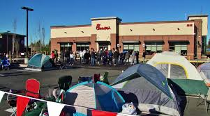 fil a fans c out for 1 year of free food
