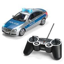 mercedes rc police car remote control police car radio control