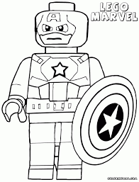 avengers 4 lego superheroes printable coloring pages color mean