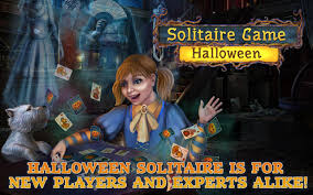 solitaire game halloween free android apps on google play