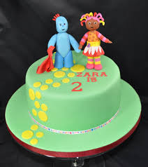 iggle piggle upsy daisy cake cakecentral