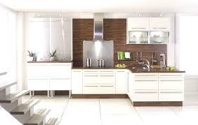 cuisine laqu cuisine blanc laqu et bois 11 avec blanche laque table de design