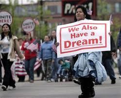 Inmigrantes y aborígenes, soñadores