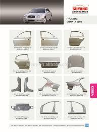 hyundai accent 2000 parts genuine car trunk lid metal parts for repairing apply to hyundai
