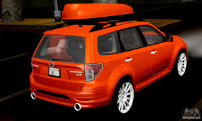 orange subaru forester subaru forester rrt sport 2008 v2 0 for gta san andreas