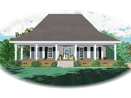 square house plans with wrap around porch warford acadian home plan 087d 0243 house plans and more