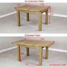 standard kitchen table size standard dining room table size of