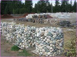 Landscape Rock Las Vegas by Landscaping With River Rock Installation Front Yard Landscaping
