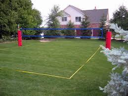 download backyard beach volleyball court garden design