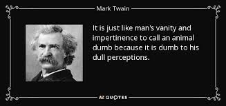 Call Vanity Mark Twain Quote It Is Just Like Man U0027s Vanity And Impertinence To
