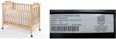 Babi Italia Pinehurst Convertible Crib Babi Italia Bonavita And Issi Drop Side Cribs Product Recall