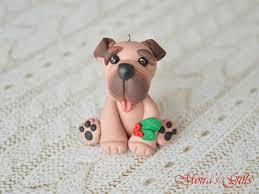 bullmastiff ornament figurine