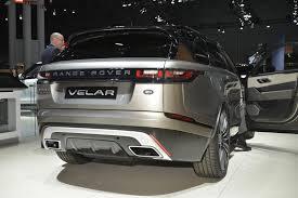 new range rover velar brings its tech fest to new york