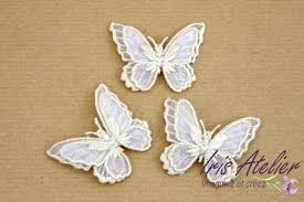 mariage couture papillon organza soie mercerie mariage couture scrapbooking diy