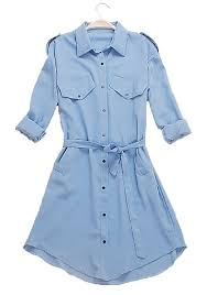 light blue trench coat light blue belt loose linen cotton trench coat outerwears tops
