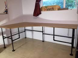 Steel Pipe Desk 5 Black Iron Pipe Desk Desk Lamp Stainless Steel Pipe Black Iron