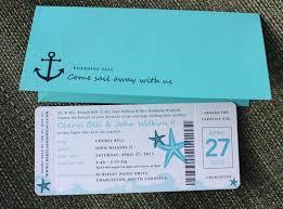 cruise wedding invitations wedding invitations on starfish cruise wedding and