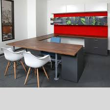 U Shape Desk U Shaped Desk Green Clean Designs U Shape Office Desk Kansas City