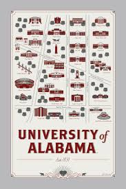 Uh Campus Map 142 Best Alabama Stuff Images On Pinterest Alabama Crimson Tide