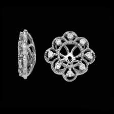 diamond earring jackets fancy diamond earring jacket