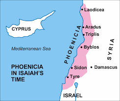 Blank Map Of Israel by Maps Covering The Periods Of Isaiah U0027s Prophecies