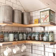 kitchenshelves com scaffolding plank kitchen shelves normally i don t like open
